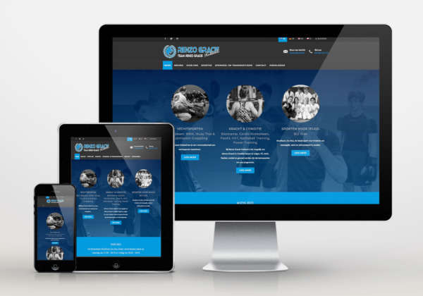 Website Renzo Gracie Holland