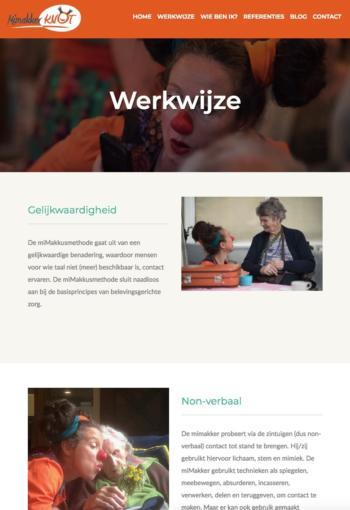 Mimakker Knot Werkwijze, Webdesign Henk van Mierlo Tilburg